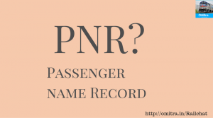 Common Abbreviations of Railways - PNR- Passenger Name Record