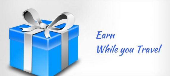 Image showing quick parcel and earn on travel