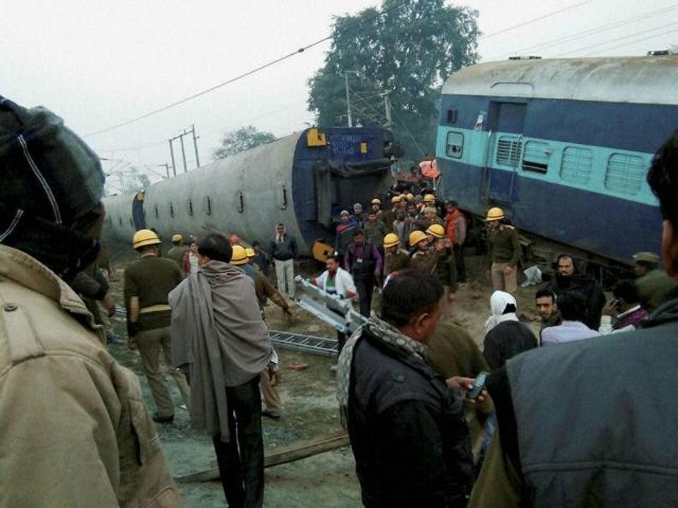 Rescue and relief work in progress at site of accident: Pic HTimes