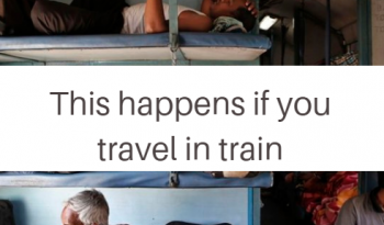 things that happen if you travel in the train