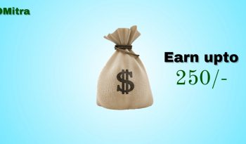 Earn upto 250 rupees OMitra train app Image