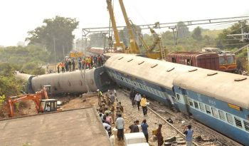 Hirakhand Train accident - OMitra train app
