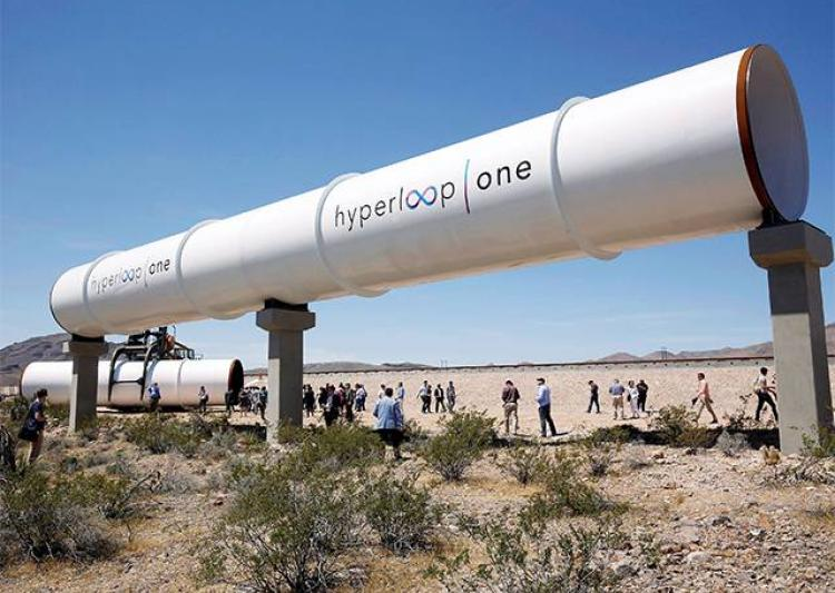 Hyperloop company work
