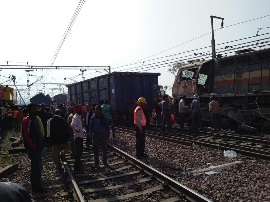 kalindi train collided image