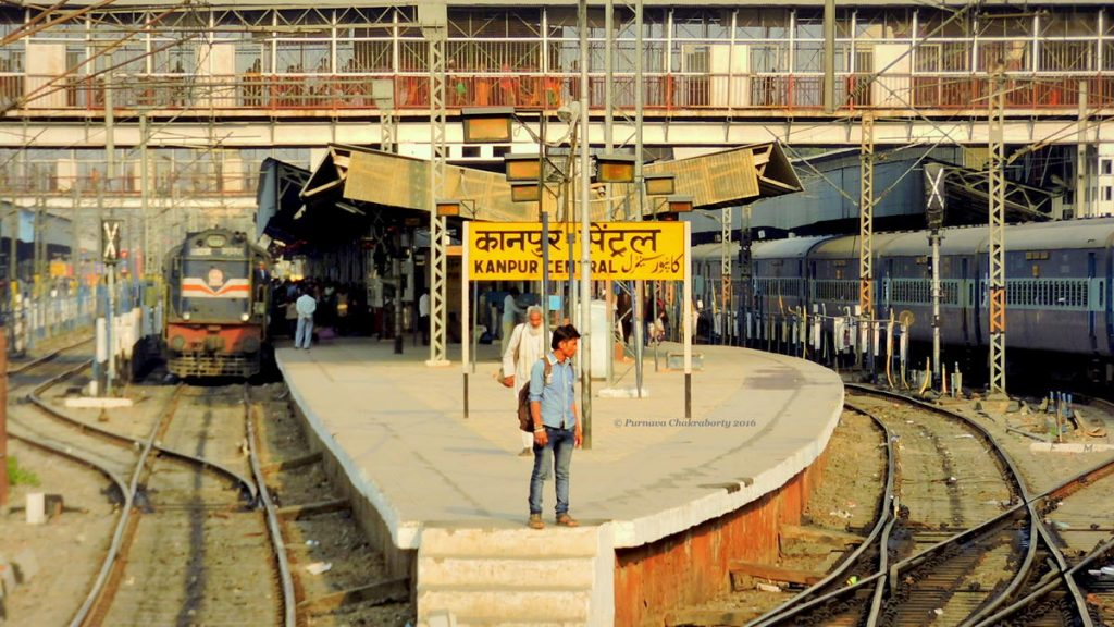 kanpur railways stations -omitra