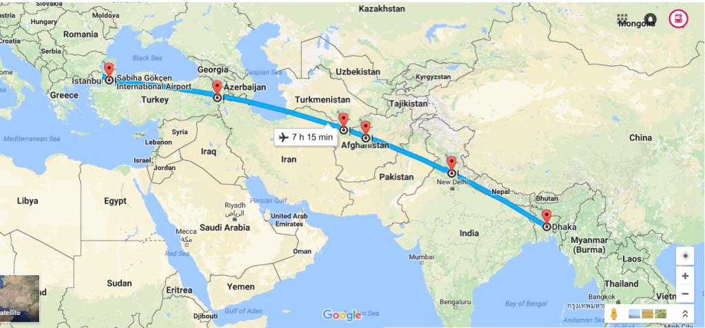 india to china train route map Indian Railways To Help In Train Route Connecting Dhaka To Istanbul Omitra Blog india to china train route map