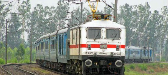 Gathiman Express enigine- Shatabdi express